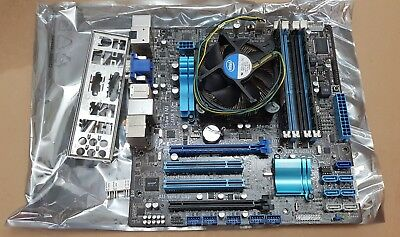 ASUS P8Z68-M PRO Motherboard with Intel i5 CPU & 8GB DDR3 RAM