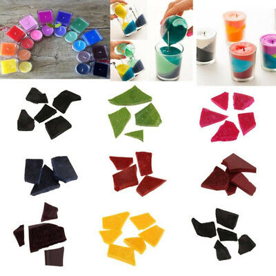 Candle Wax Dye DIY Flakes For Candle Making Supplies Kit Multi Color Chips