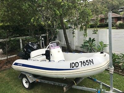 Rigid Inflatable 3.4m  Zodiac / Boat / Tender with 30HP TOHATSU four stoke FI