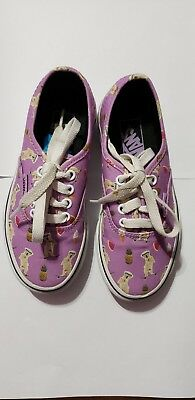0f0a15422a VANS Pool Vibes African Violet Purple Pineapple Dog Ice Cream toddler  Sneakers