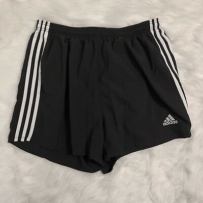 Women's Black And White Shorts Size XL