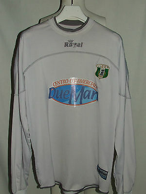 SOCCER JERSEY SHIRT TRIKOT GOALKEEPER G.. KEEPER MATCH WORN VIGOR LAMEZIA n° 1