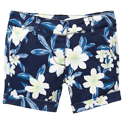 NWT Target Girls Floral Shorts Size 5
