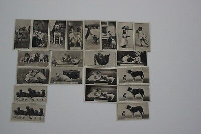 Vintage De Reszke cigarette cards - 17 of set of 50 and 4 duplicates