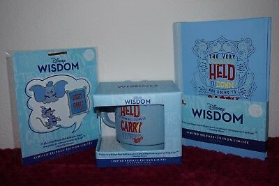 Dumbo Disney Wisdom Collection *Pins, Mug, Journal* Jan Limited - In Hand