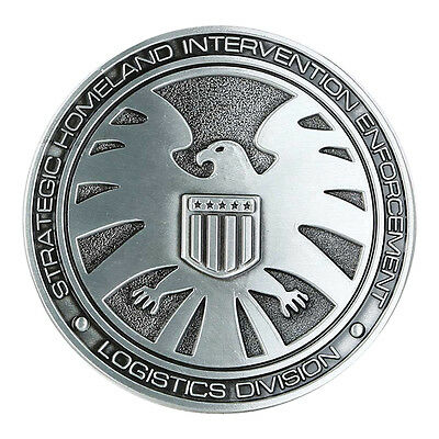 Marvel Comics Captain America HYDRA Logo Metal//Enamel BELT BUCKLE Collectible wh
