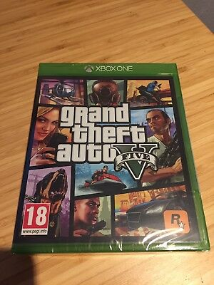 Grand Theft Auto V ( GTA5 ) xbox one NEUF sous blister