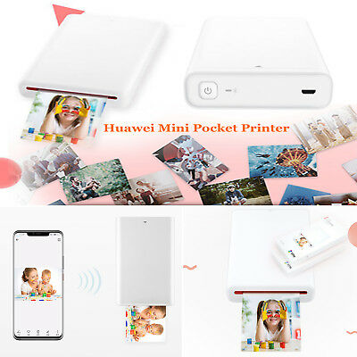 Huawei Mini Pocket Bluetooth Mobile Zink Photo Printer & Printing Paper Stickers