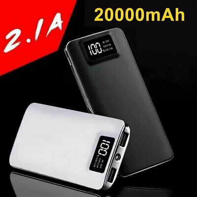 8000mAh Backup External Battery USB Power Bank Pack Charger for Cell Phone