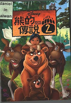 Disney: Brother Bear 2 (2006) DVD TAIWAN + SLIPCOVER