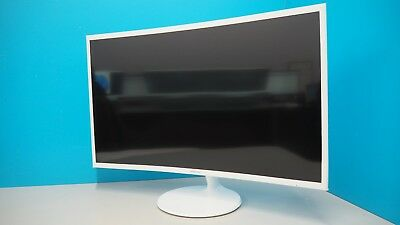 """Samsung 32"""" CF391 Essential Curved Monitor - White (636145)"""