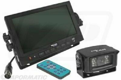 """CabCAM Video System 7"""" Monitor and 1 Camera 120Degree"""