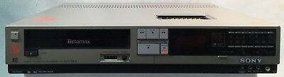 SONY SL 2400 BETAMAX Video Cassette Recorder AC 120V Untested Selling As Is