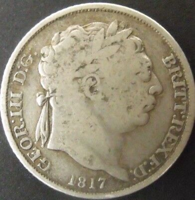 1817 GEORGE III SILVER SIXPENCE. collectable.        229/118