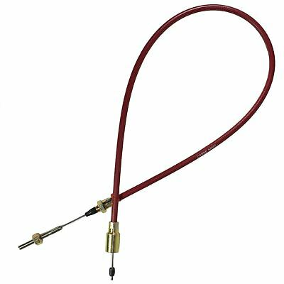 Stainless Steel Trailer Brake Cable For Knott Axles Systems Outer Sheath 930mm