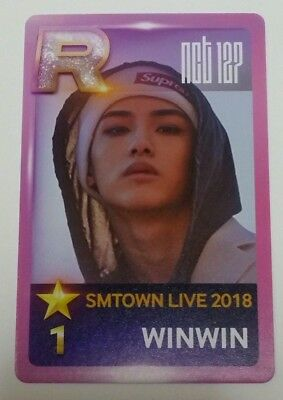NCT 127  WINWIN SMTOWN LIVE 2018 IN OSAKA Photocard PHOTO Venue Limited F/S