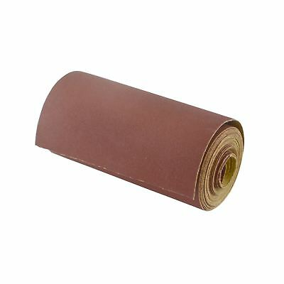 Sand Paper Roll 120 Grit Abrasive 5m Long 115mm Wide Aluminium Oxide SIL154