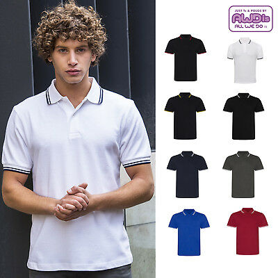 AWDis Just Ts & Polos Stretch Tipped Polo T-Shirt JP003 - Short Sleeve Men's Top