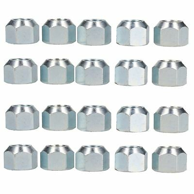 "5/8"" UNF Conical Wheel Nuts Nut Pack of 20 for Trailer Caravan Suspension Hub"