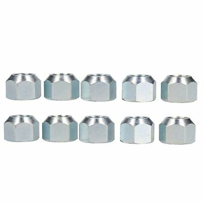 """5/8"""" UNF Conical Wheel Nuts Nut Pack of 10 for Trailer Caravan Suspension Hub"""