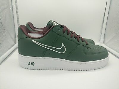 wholesale dealer c31d6 2863a Nike Air Force 1 Low Retro Hong Kong UK 7.5 Deep Forest Green White 845053-