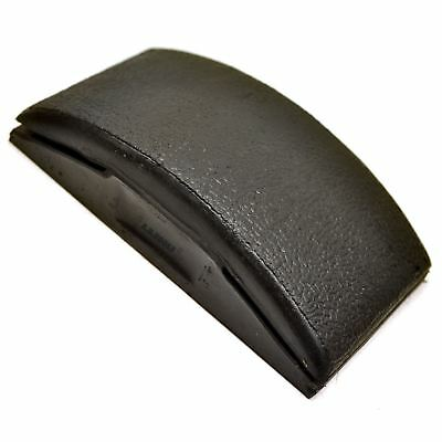Solid Rubber Sanding Block Wet and Dry Rubbing and Flattering 125mm x 65mm TE56