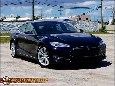 2014 Model S P85 autodrive 2014 Tesla Model S P85 autodrive Automatic 4-Door Sedan