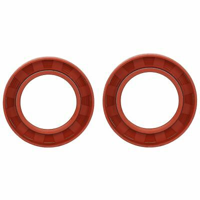 2 Trailer Bearing Hub Imperial Rubber Oil Seal OD 2.75 x ID 1.75 x W 0.37 Inches