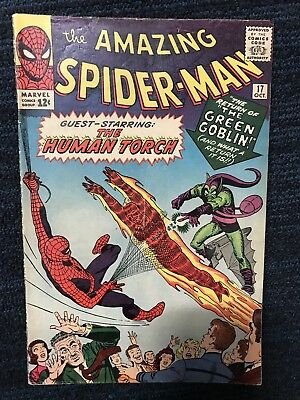 The Amazing Spider-Man #17 (Oct 1964, Marvel) Second Appearance of Green Goblin