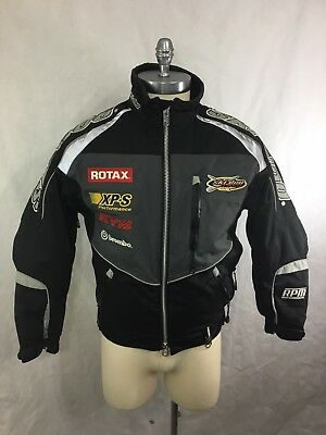 BRP SKI-DOO X-Team Thermolite SNOWMOBILE JACKET Mens XS Rotax Brembo Insulated