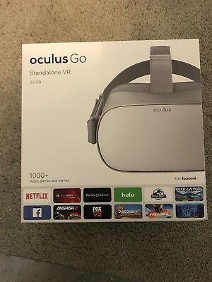 Oculus Go - 32GB Stand-Alone Virtual Reality Headset *One per customer only*