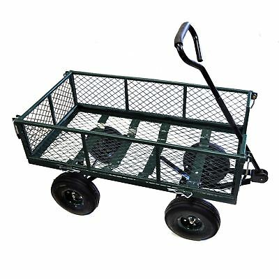 LOG Garden cart utility Truck Heavy Duty Steel Construction