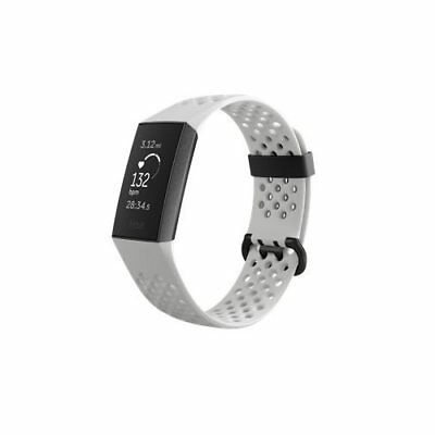 FITBIT CHARGE 3 - Special Edition - graphite activity tracker with sport  band -