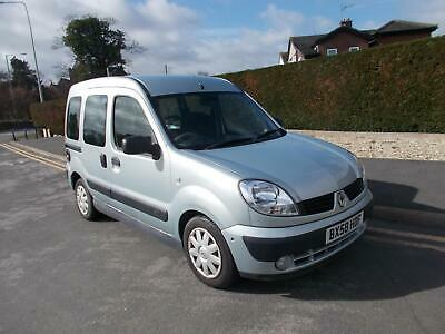 2008 Renault Kangoo 1.6 Expression 5dr Auto Estate Petrol Automatic
