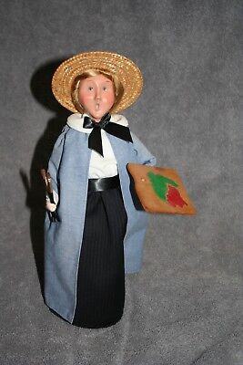 Byers Choice The Carolers Painter w/brushes  2005