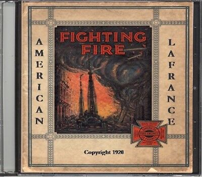 1920 American-LaFrance Fire Fighting Catalog on CD - Engines & more