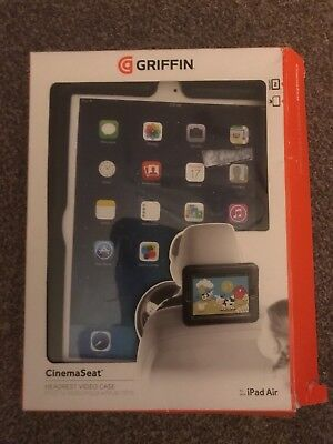 Griffin GB38270 Cinema Seat for iPad Air Attaches to Car Seat Head Rest - New