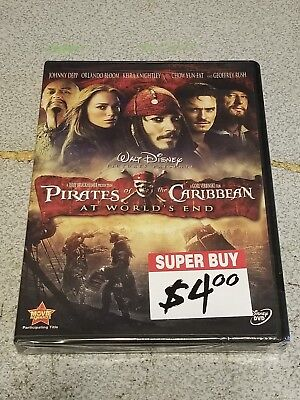 Pirates of the Caribbean: At Worlds End (DVD, 2007) FACTORY SEALED