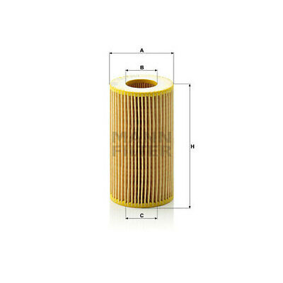 Mercedes Benz Oil Filter OEM Mann HU718/1k Diesel 6111800109 W163 ML270 CDI