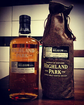 Highland Park 2004 13yo single cask series whisky limited edition Belgium 64.1%