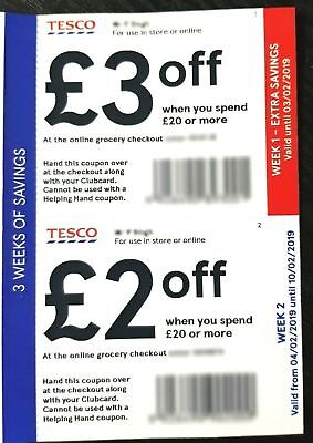 tesco money off vouchers
