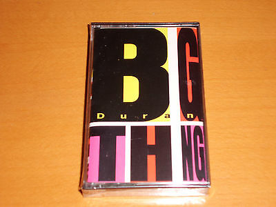"Duran Duran ""big Thing"" Cassette Tape 1988 Spain Rare! New & Sealed!"