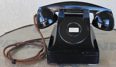 Western Electric Non-Rotary Dial Desk Phone with F1 Handset - Repair or Restore