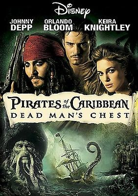 Pirates of the Caribbean: Dead Mans Chest DVD *Brand New*