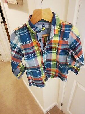 Great Boys Striped Shirt By Ted Baker, Age 18/24 Months!