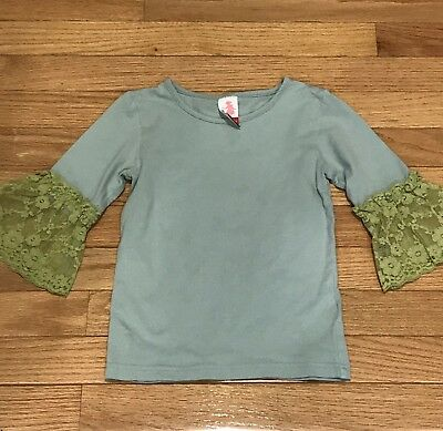 VGUC Matilda Jane Blueberry Boat Tee Size 4 Girls Serendipity