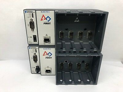 Lot of 2 National Instruments NI cRIO-FRC II 4-Slot Chassis 193391D-02