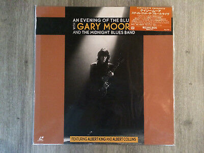Laserdisc LD An evening Of The Blues Gary MOORE & The Midnight Blues Band Japan