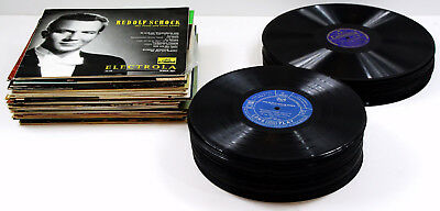 83 Schellackplatten für die JUKEBOX / MUSIKBOX /JUKE BOX Single Langspielplatten