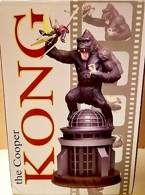 COOPER KING KONG Limited Edition Statue Rare Sold Out Perfect